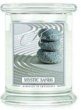 Parfumuri și produse cosmetice Lumânare aromată (borcan) - Kringle Candle Mystic Sands