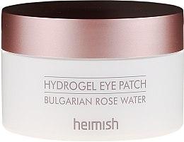 Parfumuri și produse cosmetice Patch-uri pentru față - Heimish Bulgarian Rose Hydrogel Eye Patch