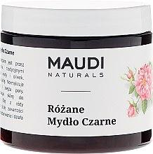 "Parfumuri și produse cosmetice Săpun negru ""Trandafir"" - Maudi"