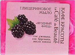 """Parfumuri și produse cosmetice Săpun cu glicerină """"Fresh Berry"""" - Le Cafe de Beaute Glycerin Soap"""