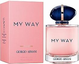 Giorgio Armani My Way - Apă de parfum  — Imagine N4