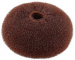 Parfumuri și produse cosmetice Burete pentru coc, maro, 110 mm - Lussoni Hair Bun Ring Brown