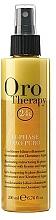Parfumuri și produse cosmetice Balsam- spray regenerant cu cheratină pentru păr, bifazic - Fanola Oro Therapy
