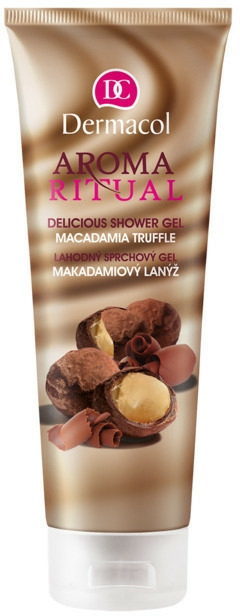 "Gel de duș ""Macadamia și Trufa"" - Dermacol Aroma Ritual Shower Gel"
