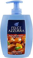 Parfumuri și produse cosmetice Săpun lichid - Felce Azzurra Nutriente Amber & Argan