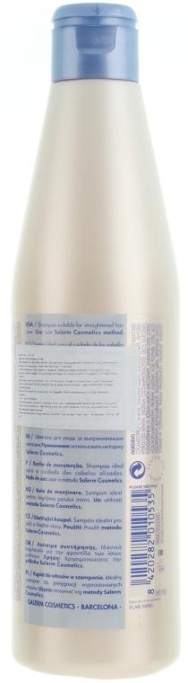 Șampon cu keratină pentru păr - Salerm Keratin Shot Maintenance Shampoo — Imagine N2
