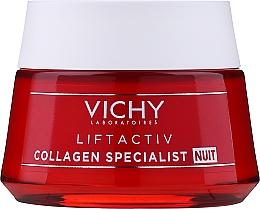 Parfumuri și produse cosmetice Cremă din colagen de noapte pentru față - Vichy LiftActiv Collagen Specialist Night