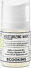 Parfumuri și produse cosmetice Mască hidratantă pentru față - Ecooking Moisturizing Mask