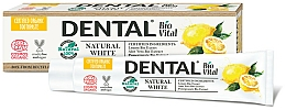 """Parfumuri și produse cosmetice Pastă de dinți """"Natural whiteness"""" - Dental Bio Vital Natural White Toothpaste"""