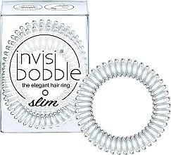 Parfumuri și produse cosmetice Elastic de păr - Invisibobble Slim Crystal Clear