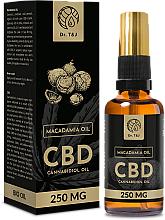 Parfumuri și produse cosmetice Ulei natural de Macadamia CBD 250mg - Dr. T&J Bio Oil