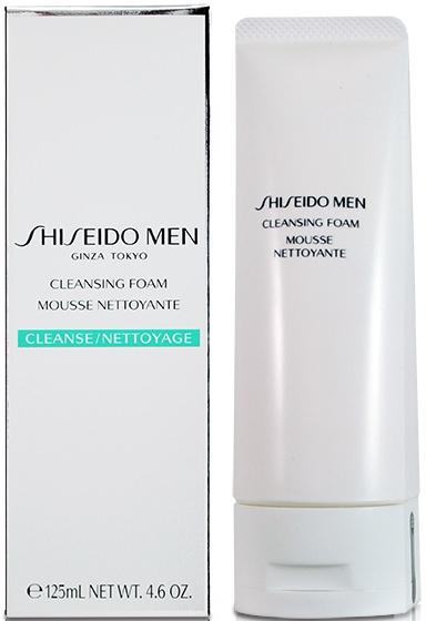 Spuma pentru curățarea tenului - Shiseido Men Cleansing Foam — Imagine N1
