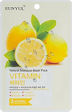 Parfumuri și produse cosmetice Mască pe bază de vitamine pentru față - Eunyul Natural Moisture Mask Pack Vitamin