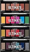 Parfumuri și produse cosmetice Paletă de farduri pentru pleoape - NYX Professional Makeup Ultimate Edit Petite Shadow Palette