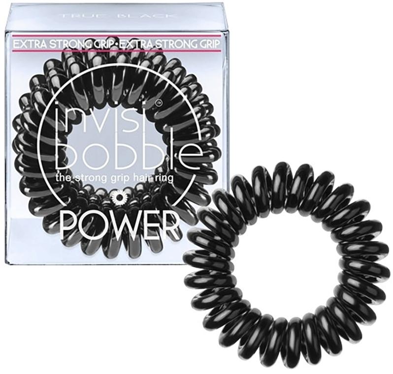 Elastic de păr - Invisibobble Power True Black