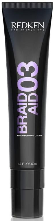 Loțiune pentru aranjarea părului - Redken Braid Aid 03 Braid Defining Lotion — Imagine N2