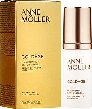 Parfumuri și produse cosmetice Ser nutritiv pentru față - Anne Moller Goldage Nourishment Serum-in-Oil