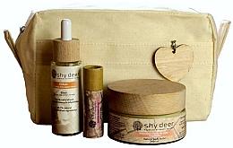 Parfumuri și produse cosmetice Set - Shy Deer Zero Waste Set (elixir/30ml+body/butter/100ml+lip/butter/12ml+bag)
