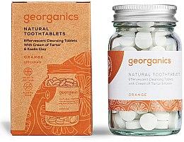 """Parfumuri și produse cosmetice Tablete pentru apă de gură """"Portocală"""" - Georganics Natural Toothtablets Orange"""