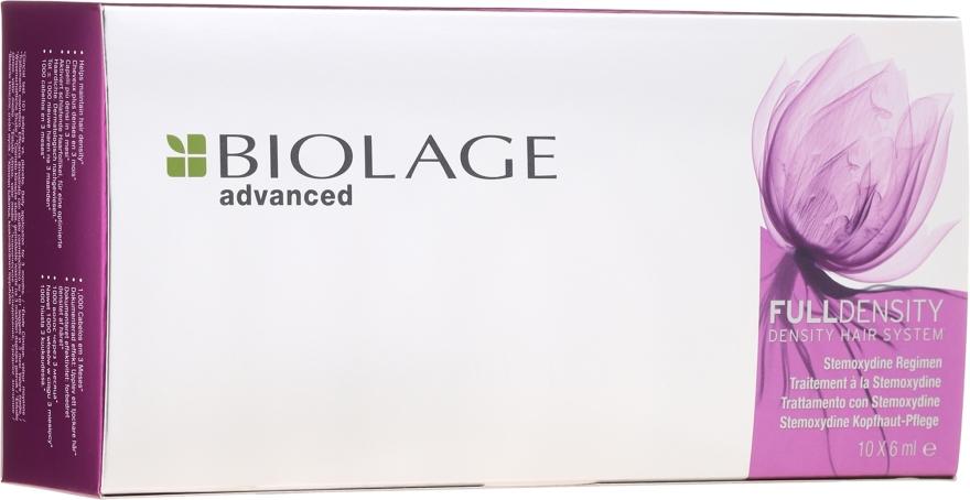 Fiole pentru stimularea creșterii părului - Biolage Full Density Thickening Hair System