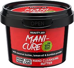 Parfumuri și produse cosmetice Ulei de mâini - Beauty Jar Mani-Cure Hand Cleansing Butter