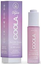 Parfumuri și produse cosmetice Picături cu protecție solară pentru față - Coola Full Spectrum 360 Sun Silk Drops Organic Face Sunscreen SPF 30