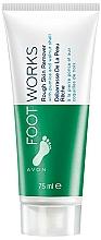 Parfumuri și produse cosmetice Scrub exfoliant pentru picioare - Avon Foot Works Rough Skin Remover