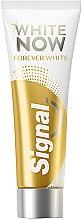 Parfumuri și produse cosmetice Pastă de dinți, cu efect de albire - Signal White Now Forever Toothpaste