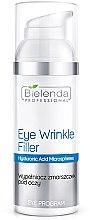 Parfumuri și produse cosmetice Umplutură pentru riduri în jurul ochilor - Bielenda Professional Program Eye Wrinkle Filler