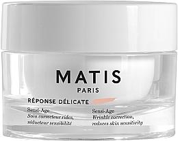 Parfumuri și produse cosmetice Cremă calmantă antirid pentru ten sensibil - Matis Reponse Delicate Sensi-Age