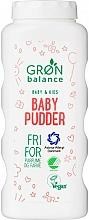 Parfumuri și produse cosmetice Pudră de talc - Gron Balance Baby & Kids Baby Pudder