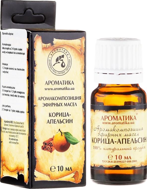 """Ulei aromat """"Portocală scorțișoară"""" - Aromatika — Imagine N1"""