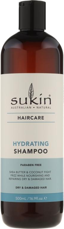 Șampon hidratant pentru părul uscat și deteriorat - Sukin Hydrating Shampoo — Imagine N1