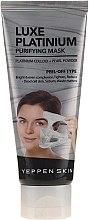 Parfumuri și produse cosmetice Mască-peliculă cu platină coloidală pentru față - Yeppen Skin Purifying Mask Luxe Platinum Peel-off