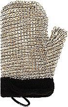 Parfumuri și produse cosmetice Mănușă-Burete de baie pentru bărbați - Suavipiel Black Men Sisal Glove