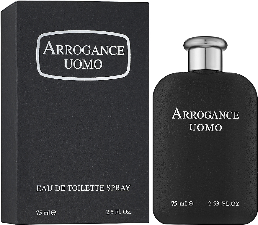 Arrogance Uomo - Apă de toaletă — Imagine N2