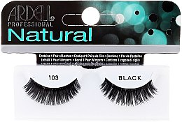 Parfumuri și produse cosmetice Extensii gene - Ardell Natural Demi Black 103