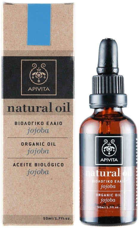 Ulei natural de jojoba - Apivita Aromatherapy Organic Jojoba Oil — Imagine N1