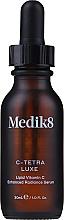Parfumuri și produse cosmetice Ser intensiv cu vitamina C și antioxidanți - Medik8 C-Tetra Luxe Lipid Vitamin C Enhanced Radiance Serum