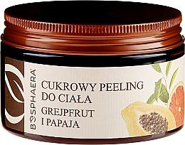 """Parfumuri și produse cosmetice Peeling pentru corp """"Grapefruit și papaya"""" - Bosphaera"""