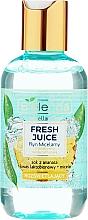 Parfumuri și produse cosmetice Apă micelară pentru față - Bielenda Fresh Juice Micellar Water Pineapple