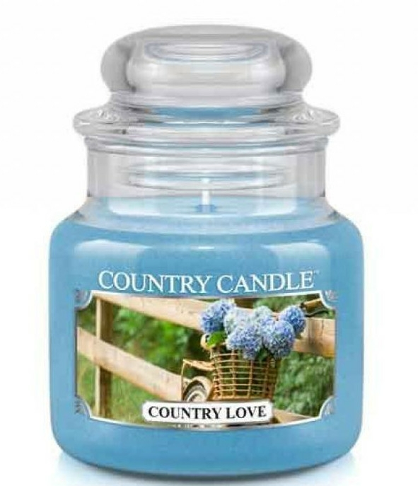 Lumânăre aromată - Country Candle Country Love — Imagine N1