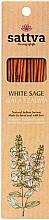 """Parfumuri și produse cosmetice Bețișoare parfumate """"White Sage"""" - Sattva White Sage"""