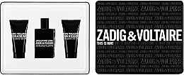 Parfumuri și produse cosmetice Zadig & Voltaire This is Him - Set (edt/50ml + sh/g/50ml + sh/g/50ml)