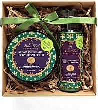 Parfumuri și produse cosmetice Set - Sabai Thai Rice Milk (b/scrub/200ml + b/lot/200ml)