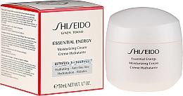 Parfumuri și produse cosmetice Cremă hidratantă de față - Shiseido Essential Energy Moisturizing Cream