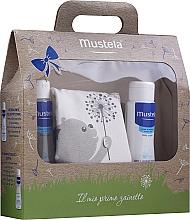 Parfumuri și produse cosmetice Set - Mustela My First Backpack (b/gel/200ml + shm/200ml + bag)