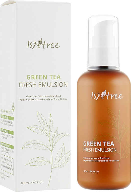 Emulsie revigorantă cu ceai verde - IsNtree Green Tea Fresh Emulsion