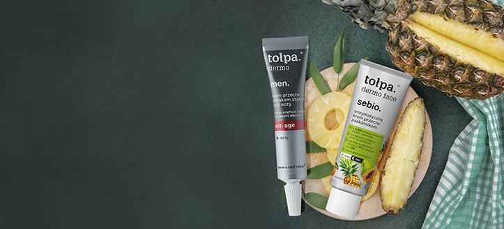 Reducere 10% la gama promoțională pentru îngrijirea feței de la Tołpa. Prețurile pe site sunt prezentate cu reduceri