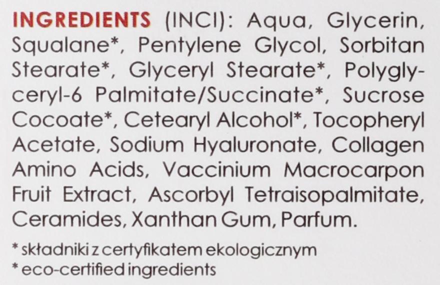 Ser hidratant antirid de noapte - GoCranberry Anti-Wrinkle Night Serum — Imagine N4